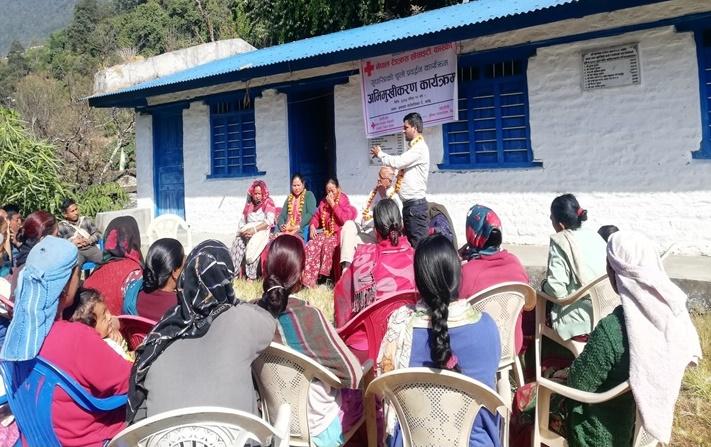 MICS training voor bewoners van Sabet