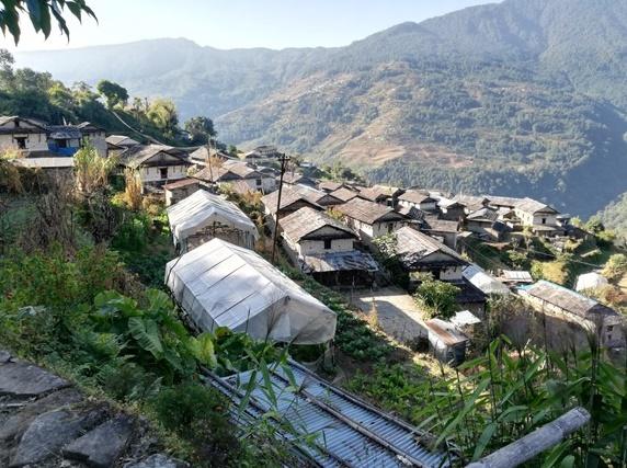 Het dorp Sabet