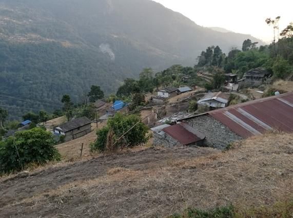 Het dorp Tamu