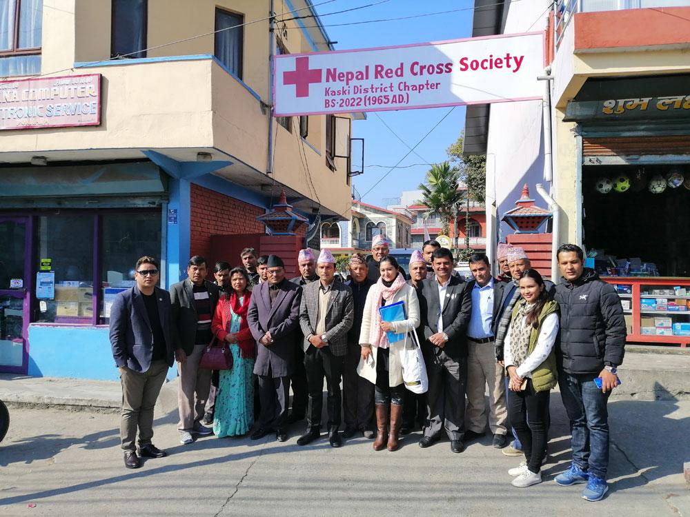 Contractondertekening Ramkot WaSH project met Nepalees Rode Kruis