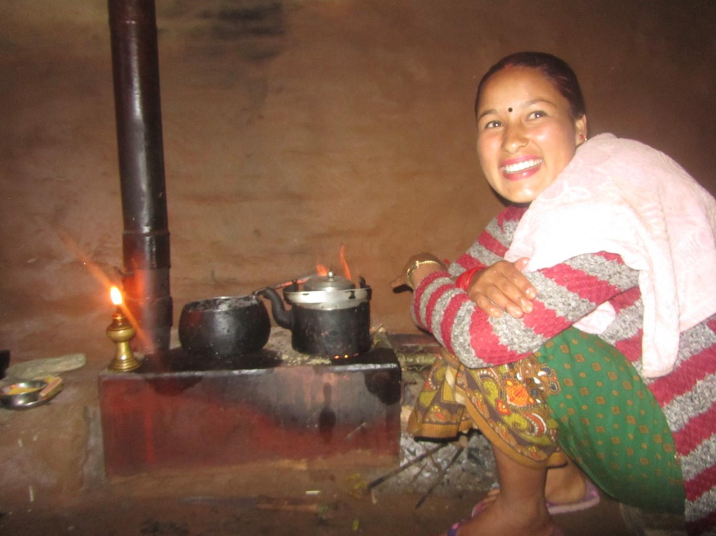 Verbeterde kooktoestellen zorgen voor minder rookverontreiniging in huis