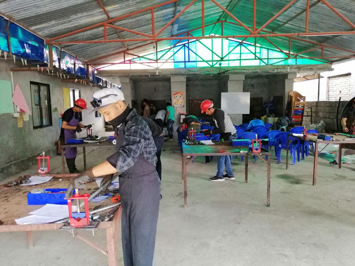 Loodgieterij praktijktraining